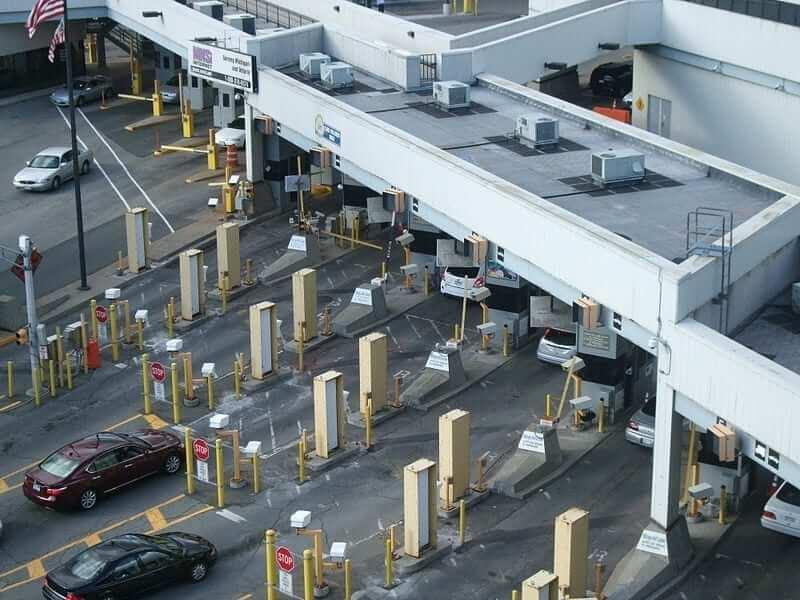Windsor Detroit Border Crossing